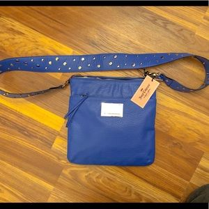 Leather Crossbody Juicy Couture Blue NWT